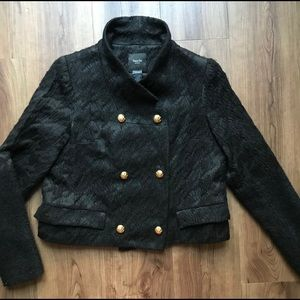 Smythe black double breasted blazer Sz 8